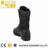 De moda de la alta calidad del nuevo diseño de cuero genuino Negro Hombres táctico Ejército Boot Boot Militar Boot