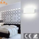 De interior moderno, luz LED de pared lámpara de pared de aluminio
