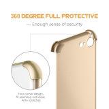 на iPhone 7 аргументы за телефона полного PC случая 360 iPhone 7 тонкое гибридное защитное с протектором Tempered стекла