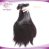 Prolonge 100% de trame de cheveux humains de cheveu péruvien de Remy de Vierge