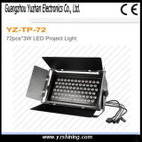 RGBW LED 72 * 3W arandela de la pared Etapa de iluminación