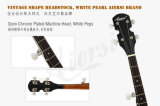 Банджо шнура шеи 5 Aiersi Mahogany с 18 кронштейнами (BJ005-18)