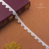 guarnizione del merletto del ricamo del Organza di 2.2cm