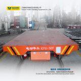 O carretel de cabo operou o carro de transferência liso da fábrica do trilho do uso da indústria pesada