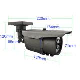 cámara video impermeable del IP de la visión nocturna del CCTV de 1080P IR