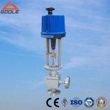 Il tipo ad alta pressione elettrico di angolo ha forgiato la valvola di regolazione (GZDLS)
