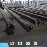 os 10m galvanizaram a iluminação redonda e cónica pólo da rua (BDP-10)