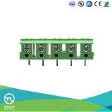 De draad beschermt de Schakelaar van het Messing van het EindBlok Mu2.5p/V7.5 van PCB