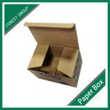 Caisse d'emballage de papier de dessus de repli en Chine