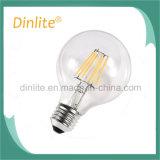 Bulbo novo do filamento do diodo emissor de luz do vintage do estilo G95 4W E27