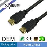 Goud 1.4 Audio Video van de Hoge snelheid van Sipu 24k Kabel HDMI