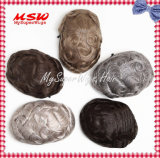 Plena Swiss Lace (Lace) Francês Hairpiece personalizados mais natural