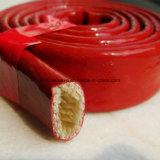 Schlauch-Isolierungs-wärmeschützendes silikonumhülltes Fiberglas Sleeving