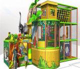 O divertimento do elogio caçoa o campo de jogos interno temático da selva para a venda