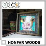 Collage 3 teilte hölzernen Abbildung-Foto-Rahmen für Hauptdekoration