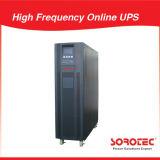 UPS em linha de alta freqüência 30kVA 27kw do fator 0.9 do poder superior para trifásico com ponto morto