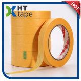 3m 244 de bande paerforée jaunes de papier plats japonais avec l'adhésif acrylique