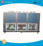 Тип охлаженный воздухом хладоагент коробки Китая охладителя воды R134A винта