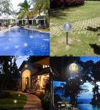 2017 Nueva iluminación solar de la piscina del jardín del diseño que flota la luz flotante para la decoración