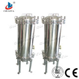 Ro-Systems-industrielles kundenspezifisches Edelstahl-multi Kassetten-Filtergehäuse