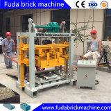 Machine de brique de cendres volantes en machine semi-automatique de bloc de la vente Qt40-2