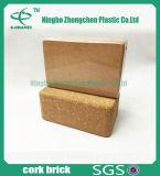 Bloque de Yoga de Corcho Natural Bloque de Yoga Ladrillo de Yoga Accesorios de Pilato Yoga Cork Brick