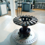 Máquina de balanceamento dinâmico vertical da pinça pneumática para a lâmina de ventilação