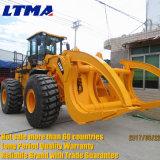 Goede Kwaliteit de Vrachtwagen van de Lader van het Logboek van het Wiel van 15 Ton