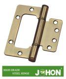 Cerniera acciaio del hardware o del portello o della finestra di piegamento del ferro (80X83.1X2.5mm)