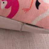 Caisse estampée par flamant de toile de palier de maneton de coton sans bourrer (35C0014)