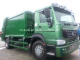 HOWO 4X2 10cbm 폐기물 쓰레기 압축 분쇄기 쓰레기 트럭