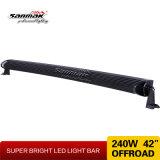 240W 4X4, double rangée Offroad 42inch CREE LED Light Bar