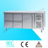 Refrigerador do contador do petisco da porta dobro (SNACK2100TN)