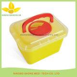 Contenitore medico di plastica di Sharp di eliminazione