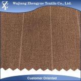 Tela de estiramiento de la manera de la raya 4 del Spandex del poliester de la mezcla para la ropa