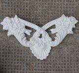 O plutônio da decoração da escultura da parede dos Onlays do poliuretano Ornaments os Appliques Hn-S020