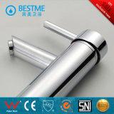 Singolo rubinetto di acqua del bacino della leva di migliore colore bianco di qualità (BM-A10026)
