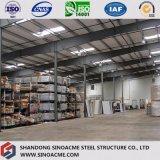 Construction industrielle de structure métallique avec le modèle professionnel