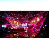 Farbenreicher hoher Helligkeit P3.91 im Freien gebogener LED-Innenbildschirm