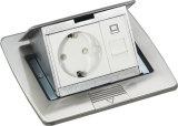 Duik de Dozen van de Vloer van het Roestvrij staal/de Contactdozen van de Vloer met HDMI op