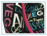 Totes della tela di canapa di disegno della stampa due di scintillio di Las Vegas