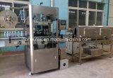 12000bph automatische het Krimpen van de Etikettering van de Fles van de Koker van pvc Machine