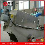 Pers van de Filter van de modder de Ontwaterende, de Pers van de Filter van de Schroef van het Roestvrij staal voor Behandeling van afvalwater