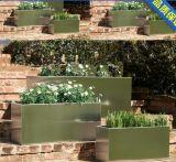 Bac de fleur rond de jardin de l'acier inoxydable 304 pour de grande taille
