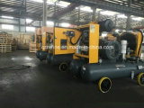 Kaishan LGJY-3.6/6 compresor de tornillo portátil eléctrico con el tanque de aire