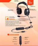 Bluetooth機能の実行中の騒音低減の評価される52dB航空ヘッドセット