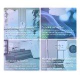 Video macchina fotografica del IP WiFi dell'allarme di obbligazione di WiFi con il sensore del portello del sensore del rivelatore di fumo PIR