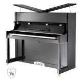 Piano vertical Ka-125f, fábrica de China en negro piano