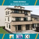 Дом Proofing ветра экономичная и роскошная светлая стальной структуры Prefab