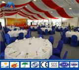 Tienda revestida blanca del banquete de boda del PVC del marco de aluminio para el partido de la familia